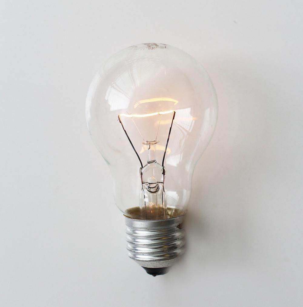 inovação na iluminação lâmpada incandescente thomas edison