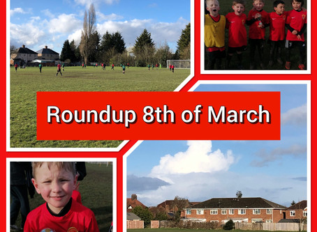 Roundup 8th of March