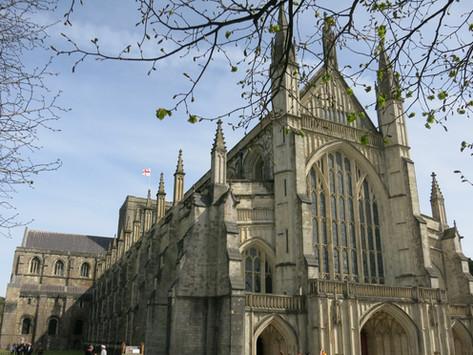 Winchester –  Møt våren i Sør-England