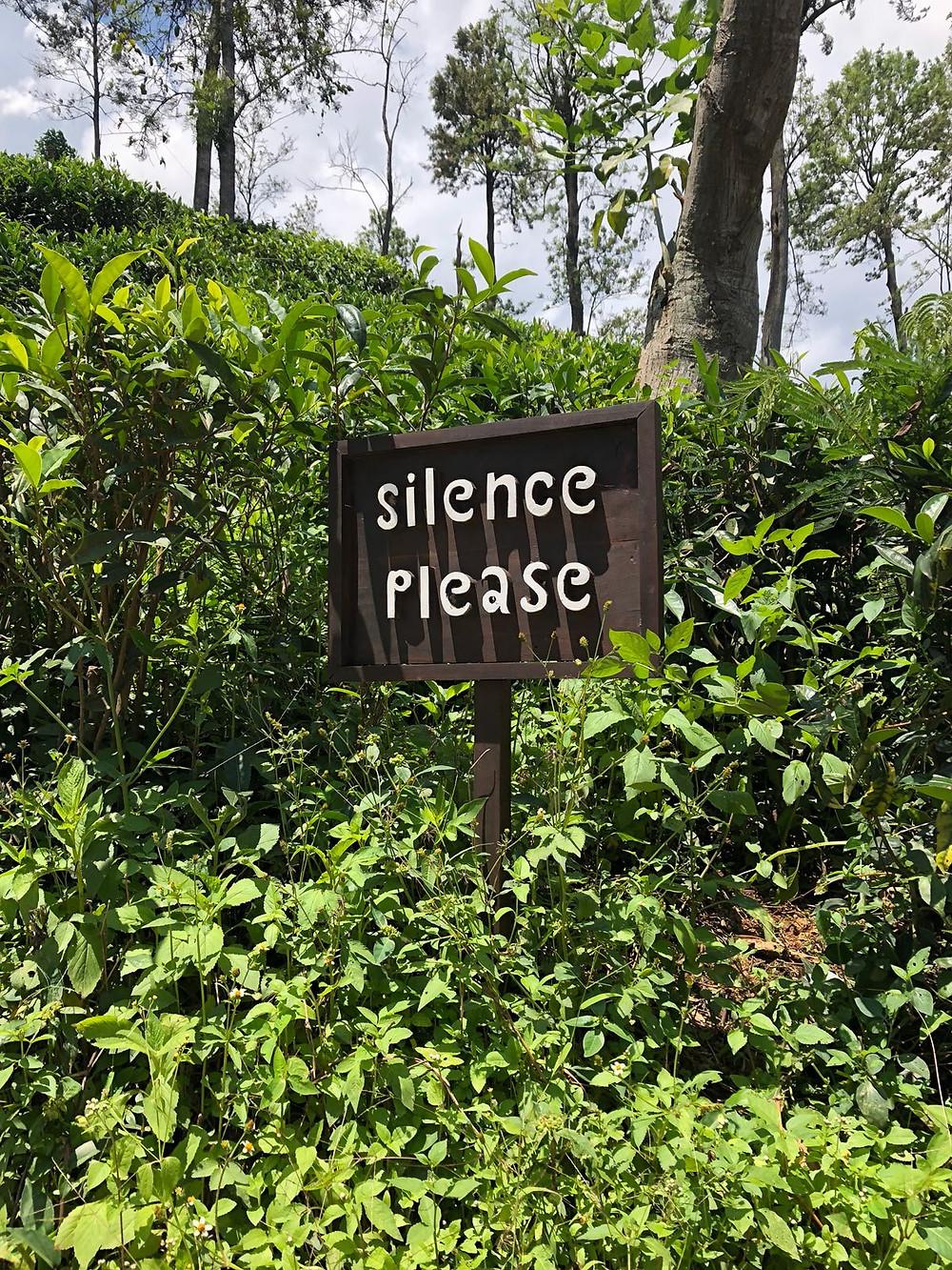 stilte graag