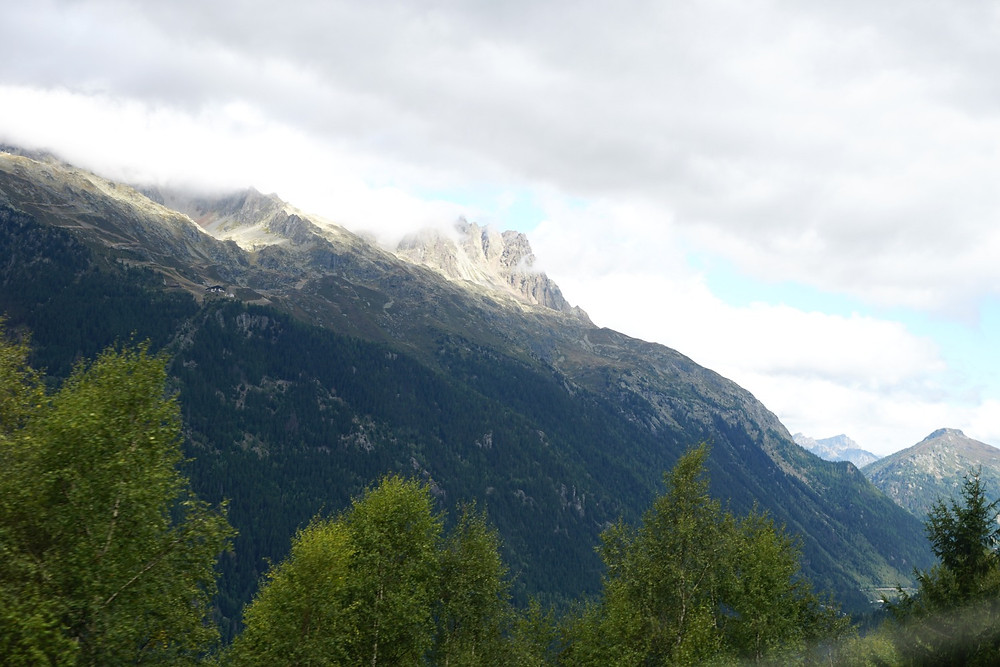 שאמוני, מון בלאן, ההר הלבן, האלפים הצרפתיים