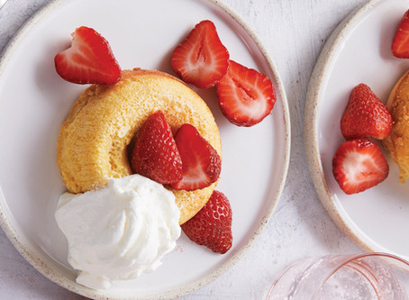 Keto Strawberry Shortcake Recipe