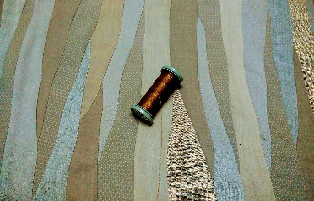 Russet thread