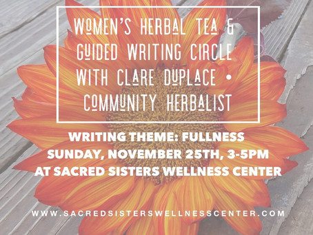 Women's Herbal Tea & Guided Writing Circle