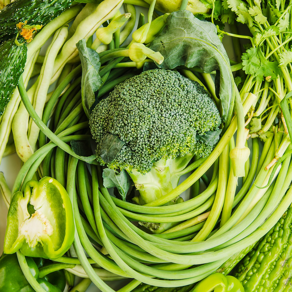 Eating vegetables before yoga blog by Nth Sense