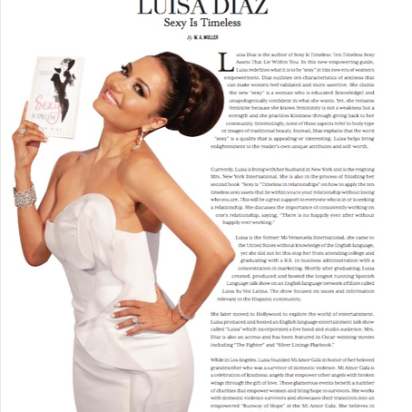 Resident Magazine's Profile on Luisa Diaz