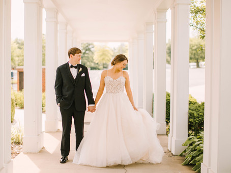 Liza + Holt's Classic Romantic Wedding at the Marriott St. Louis!