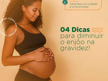 04 Dicas para diminuir o enjôo na gravidez!