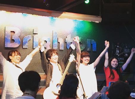 2018.3.13LIVE@ brighton終了!
