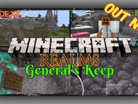 "OUT NOW!!! ""General's Keep"" - A Minecraft Realms Adventure [Bedrock] THE ARBORIST CHALLENGE"