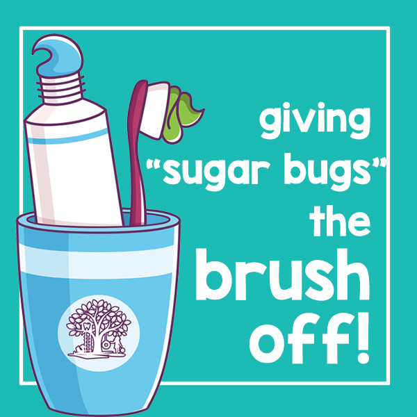 Giving sugar bugs the brush off