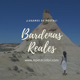 Lugares de postal: BARDENAS REALES