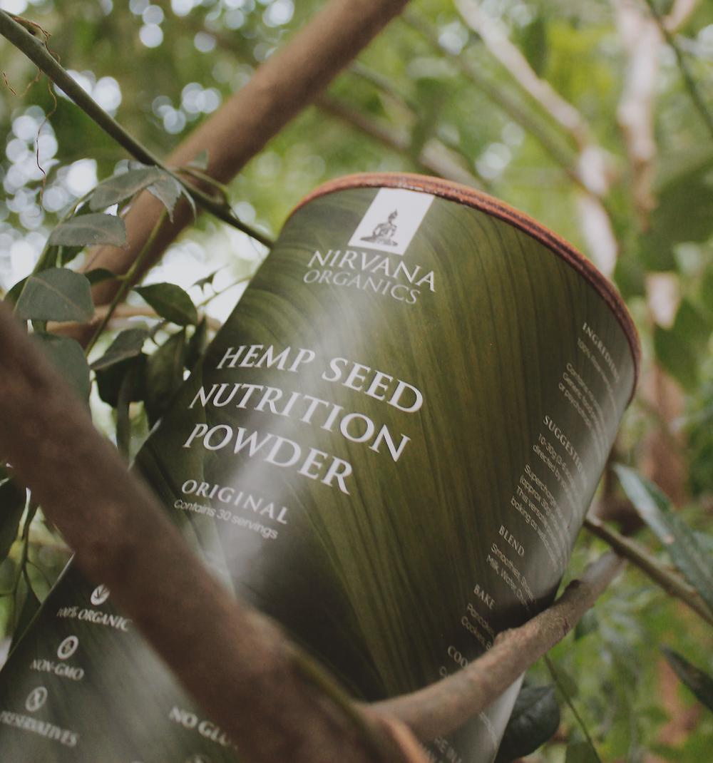 hemp seed nutrition powder