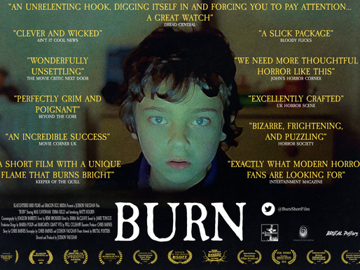 Burn short film