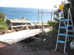 Sardinian Sun and Construction