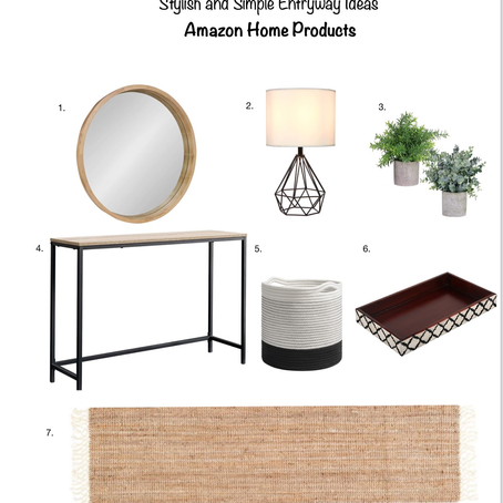 Simple Yet Stylish and Affordable Entryway