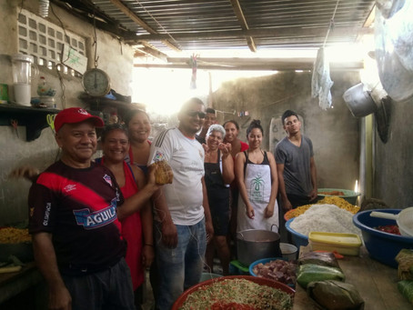 Graciela, mantiene la tradición viva de los Pasteles pa' el 24 y 31 de diciembre.