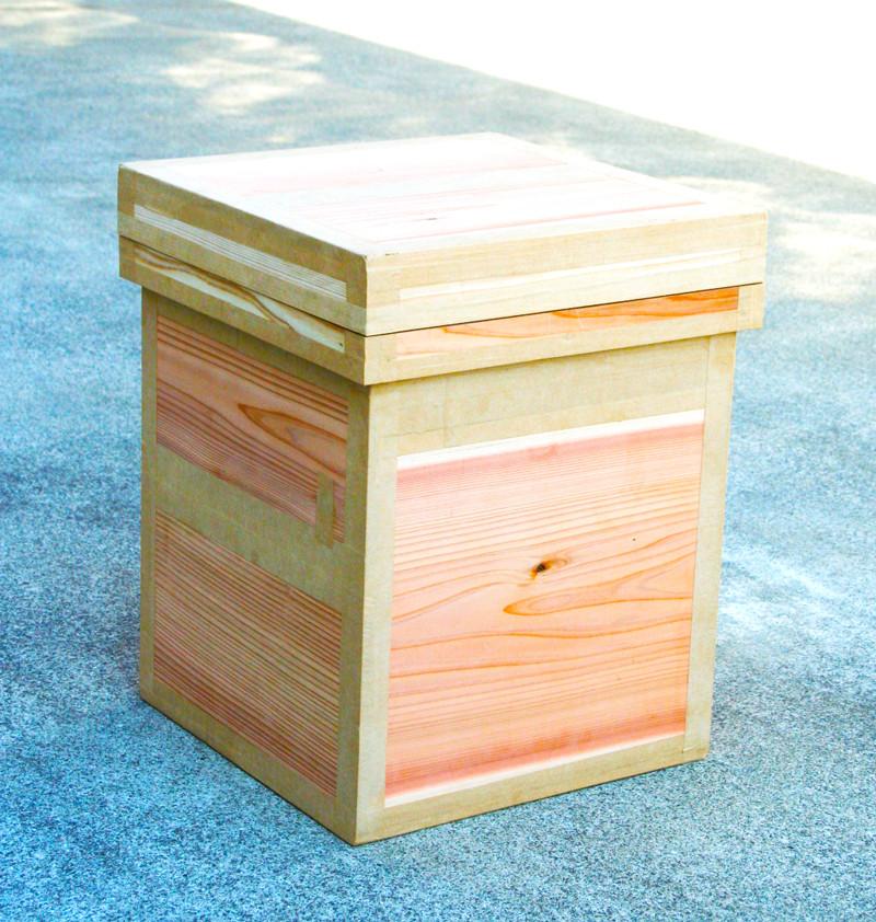 椅子としてスツール茶箱