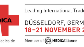 Visit CUREosity at the world's leading medical trade show MEDICA (18-21.Nov) | hall 3 stand C80 no14