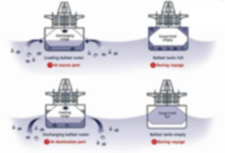 BWT (Ballast Water Treatment) - Gestión de agua de lastre (BWT) en barcos