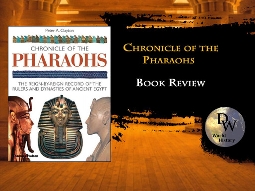Book Review - Chronicle of the Pharaohs - Peter Clayton