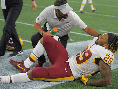 Derrius Guice: Torn ACL - Out for Season