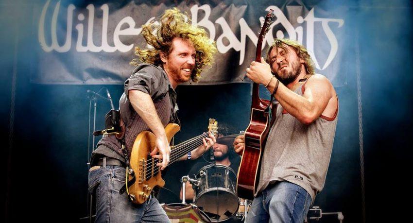 Wille & The Bandits voor twee shows naar Nederland