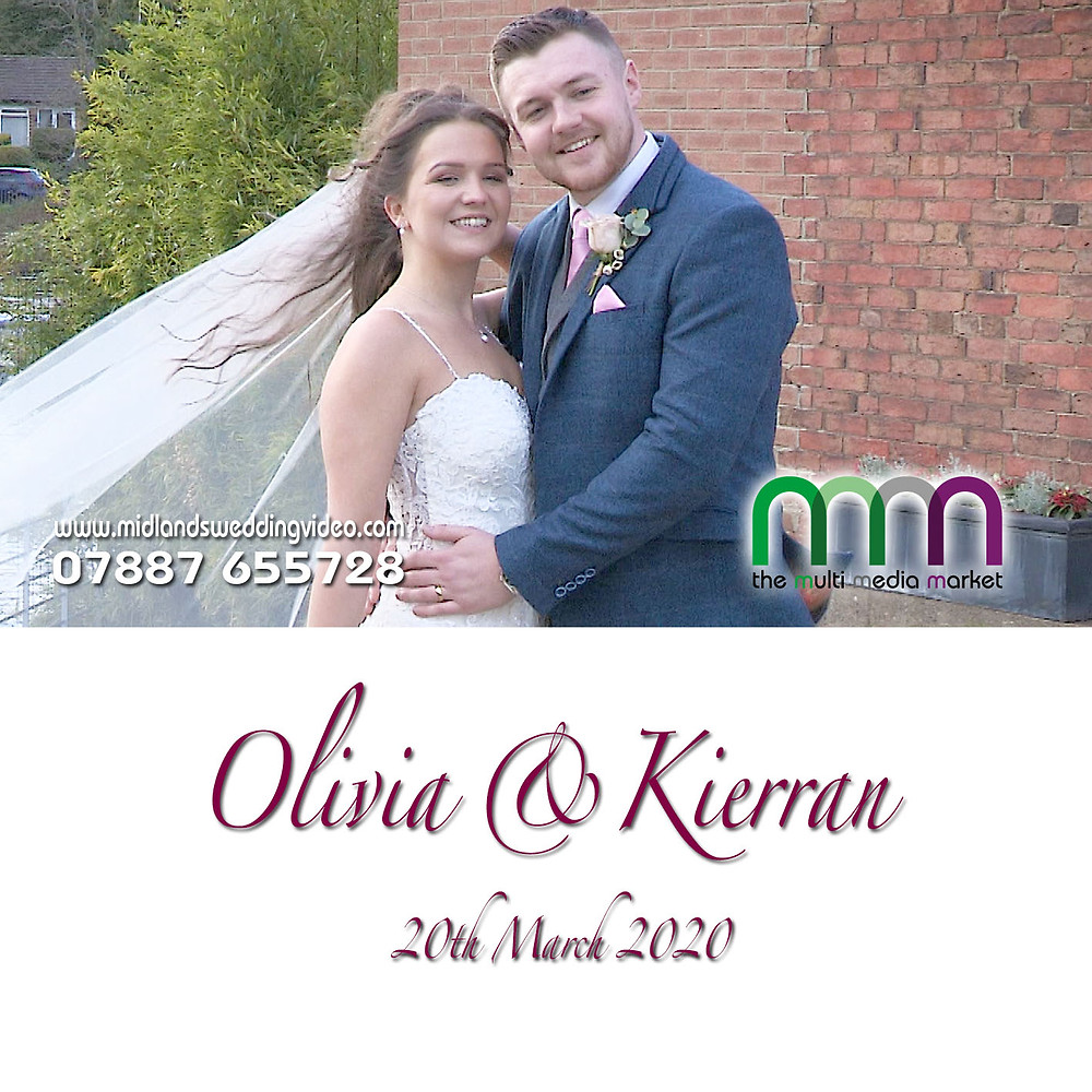 Olivia & Keiran Wedding, Filmed by The Multi Media Market, West Mill Derby