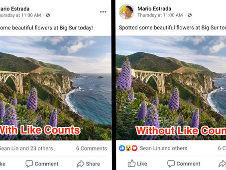 Gaan likes op Facebook nu echt verdwijnen?