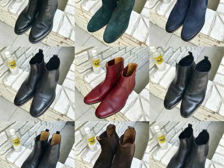 エルメスのブーツ~麻布邸宅、100足靴磨き