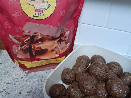 Chocolate Salted Caramel Bliss Ball Recipe
