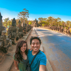 Wat Thom, The Capital City of Khmer in Siem Reap Cambodia
