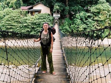 Overnight Orangutan Trekking in Bukit Lawan with Jean-Daniel Béord and Girlfriend from France🇫🇷