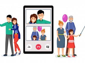 iFamily, a virtualização das relações familiares