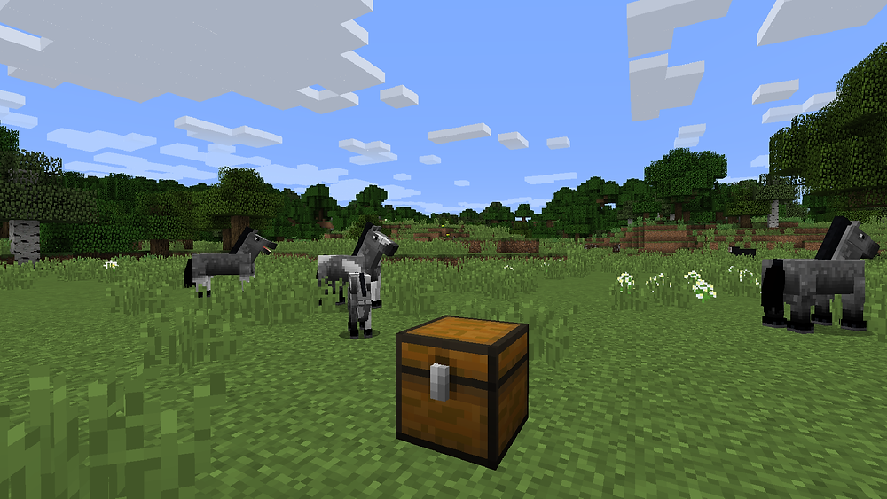MCreator custom chest block with an inventory.