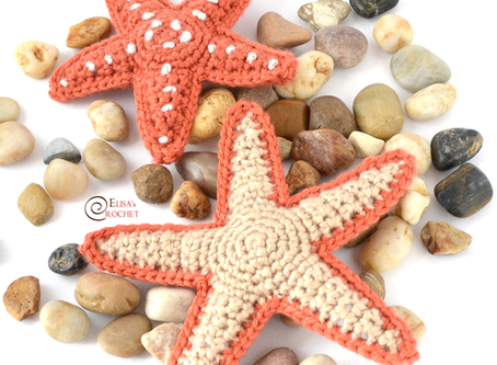 Sea Stars Free Crochet Pattern