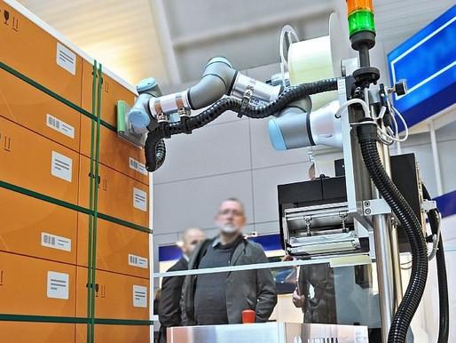 การปิดฉลากบนพาเลทโดยใช้หุ่นยนต์ | Robot-assisted Pallet Labelling