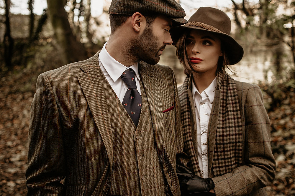 Tweed styled photo session