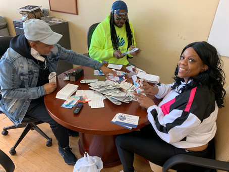 Today we donated hundreds of hand sanitizers and homemade masks to our frontline workers