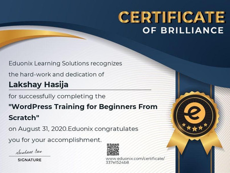 Wordpress training for beginners from scratch