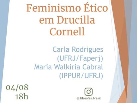 Live no Instagram: Feminismo ético em Drucilla Cornell