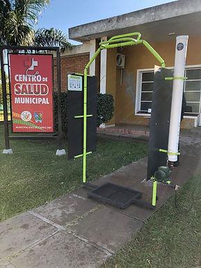 El Municipio de Carrilobo adquirió un aparato para la desinfección de personas