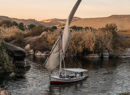 The Nile river, the source of life and death