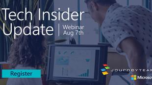 Aug 7 | TECH INSIDER UPDATE Webinar