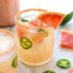 Spicy Grapefruit Mango Margarita Recipe