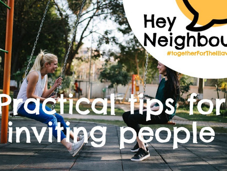 RESOURCES: Practical Tips for Inviting People