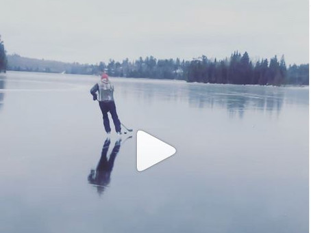 Amazing video shows Falcon Lake as mirror