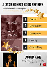 Things I Wish I Knew: Letters to My Little Sisters by LaDonna Marie