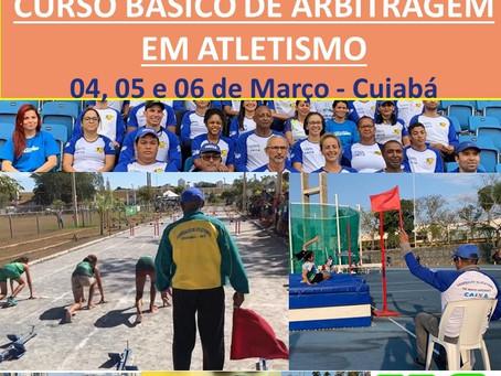 CURSO BÁSICO DE ARBITRAGEM EM ATLETISMO