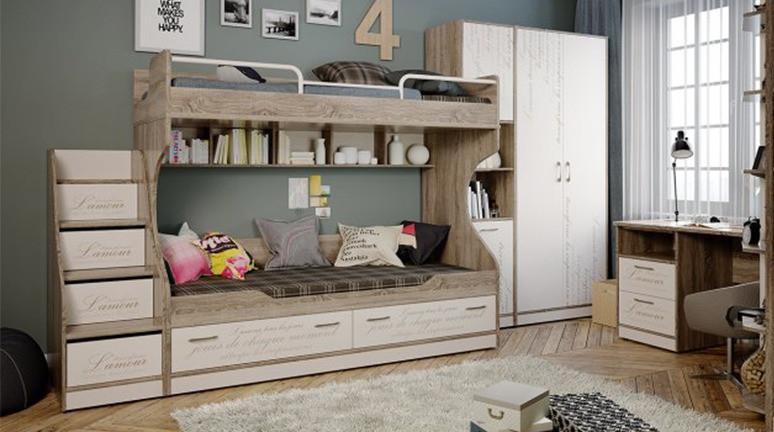 Набор детской мебели «Брауни» №2